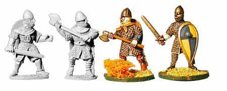 Norman Armoured Hand Weapons (4)