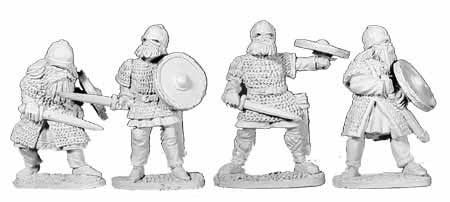 Vikings Armoured with Swords II (4)