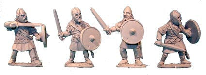 Saxon Thegn with Swords (4)