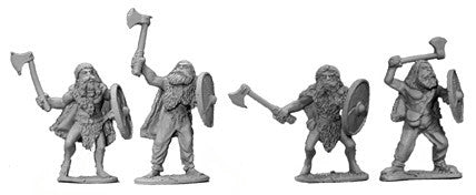 Viking Berserkers With Bearskins and Axes II (4)