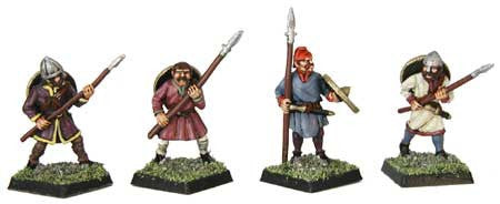 Saxon Spearmen IV (4)