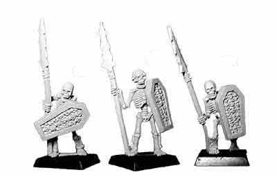 Skeleton Spearmen I (3)