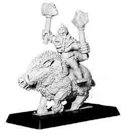 Barbarian Orc Boar Hero