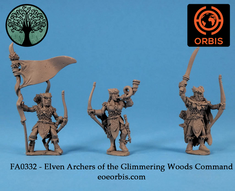 FA0332 - Elven Archers of the Glimmering Woods Command