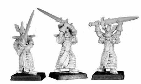 High Elf Sword Warders I (3)