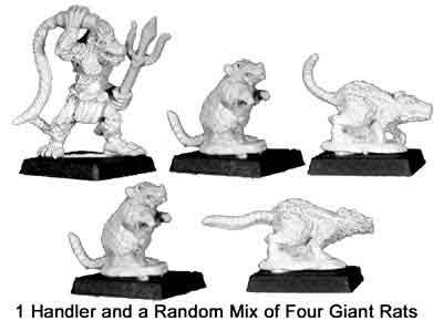 Ver`man Rat Handler & pack (1+4)