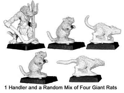 Ver`Man rat Handler II and pack (1+4)