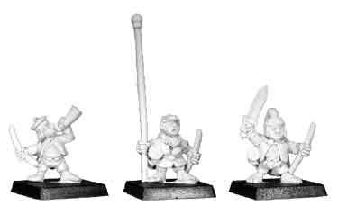 FA0818 - Averaign, Halfling Scout Command (3)