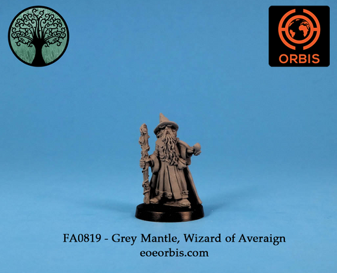 FA0819 - Grey Mantle, Wizard of Averaign