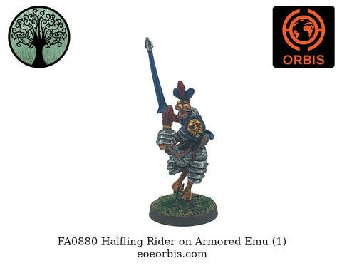FA0880 - Halfling on Armored Emu (1)