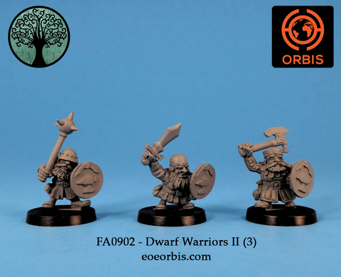 FA0902 - Dwarf Warriors II (3)