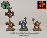 FA0970 - Iron Hills Dwarf Command (3)