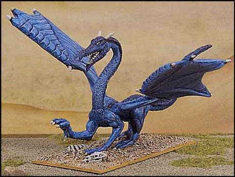 Cyaneous, the Blue Dragon