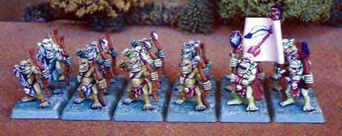Barbarian Orc Archers (18)