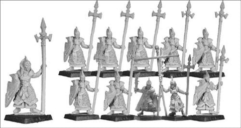Shadow Elf Spearmen (18)