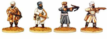 Warriors of Islam Infantry with Crossbows (4)