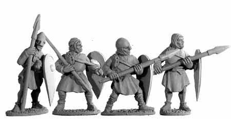 2nd Crusade Unarmoured Spearmen II (4)