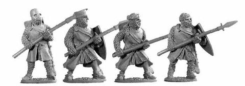 3rd Crusade Dismounted Knights with Spears (4)