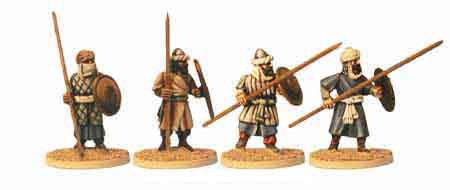 Warriors of Islam Infantry with Spears II (4)