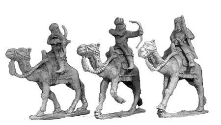 Warriors of Islam Camel Cavalry with Bows II (3)