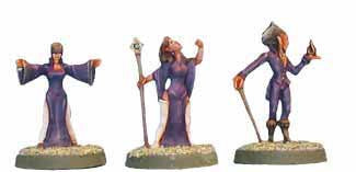 Shadow Elf Sorcerers (3)