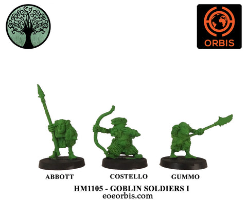 HM1105 - Goblin Soldiers I (3)