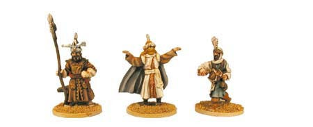 Saracen Vizier & Guards (3)