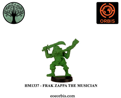 HM1337 - Barnorsk Hero - Frak Zappa The Musician