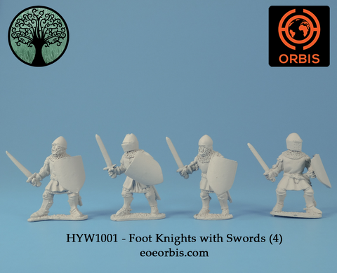 HYW1001 - Foot Knights with Swords (4)