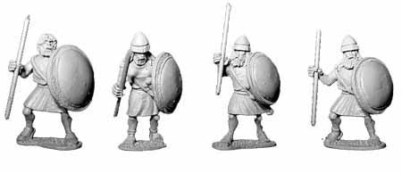 Theban Spearmen (4)