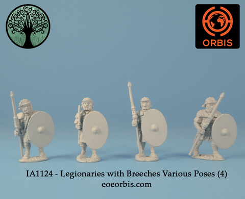 IA1124 - Legionaries with Breeches Various Poses (4)