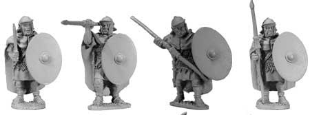 Auxiliaries with Cloaks Various Poses (4)