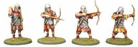 Auxiliaries Western Archers Various Poses (4)