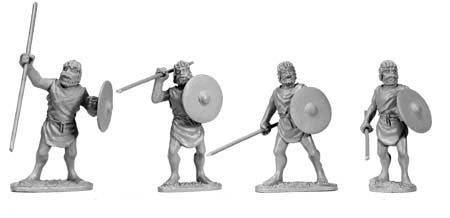 Numidian Spearmen (4)