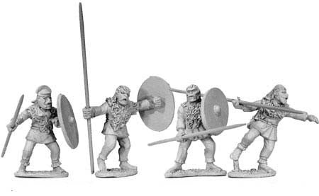 Sarmatian Heavy Spearmen (4)