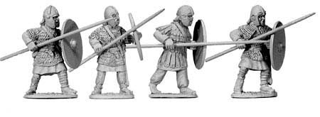 Late Roman Armoured Spearmen (4)
