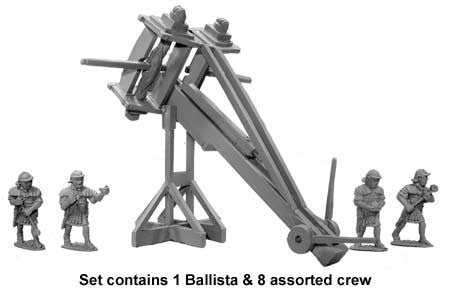 Roman 60lb Ballista and crew (1+8). LIMITED EDITION MODEL (500)