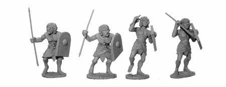 Egyptian Light Spearmen (4)