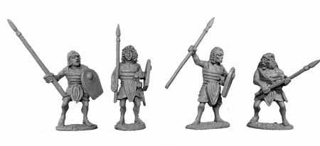 Egyptian Elite Armoured Spearmen (4)