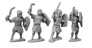 Egyptian Unarmored Swordsmen (4)