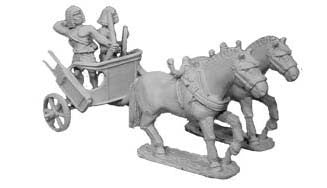 Egyptian Heavy Chariot with Archer I