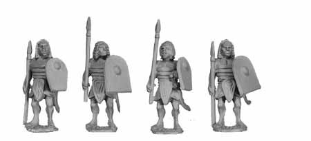 Egyptian Armoured Spearmen III (4)