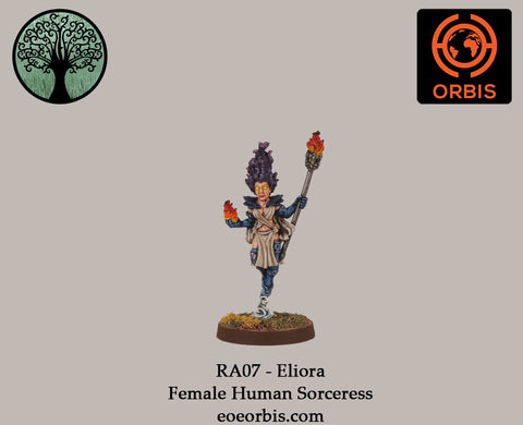 RA07 - Eliora - Female Human Sorceress