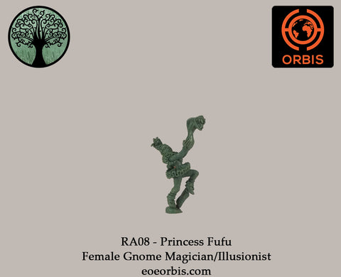RA08 - Princess Fufu - Female Gnome Magician/Illusionist