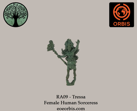 RA09 - Tressa - Female Human Sorceress