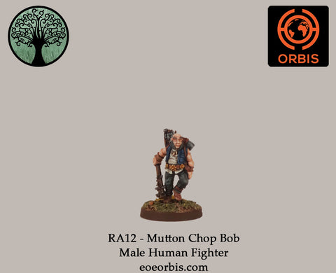 RA12 - Mutton Chop Bob - Male Human Fighter