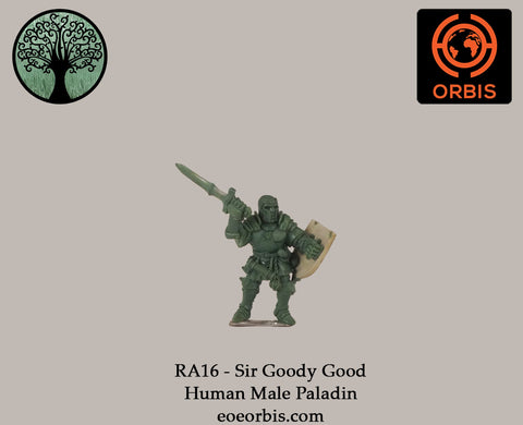 RA16 - Sir Goody Good - Human Male Paladin