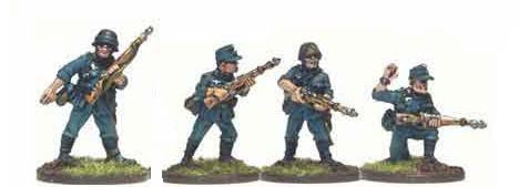Wehrmacht Infantry with Rifles I (4)