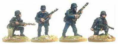 Wehrmacht Infantry with Rifles II (4)