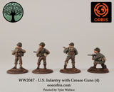 WW2047 - U.S. Infantry with Grease Guns (4)